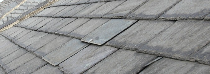 Replacing missing slate